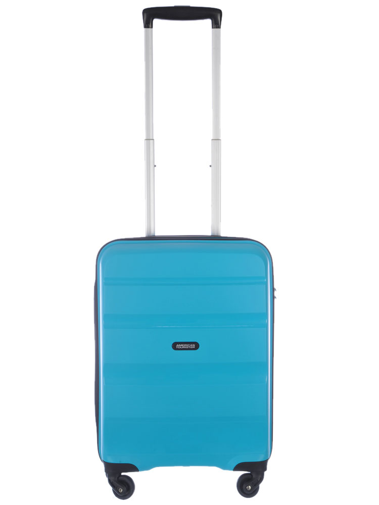 Valise rigide American Tourister Crystal Glow 66 cm Aqua Turquoise bleu stcOrCAbmj